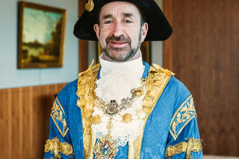 The Lord Mayor of Westminster councillor Jonathan Glanz