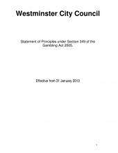 3rd edition of the Council's statement of principles