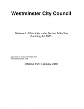 2nd edition of the Council's Statement of Principles