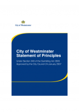 1st edition of the Council's Statement of Principles