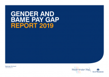 Gender and BAME pay gap report 2019
