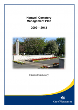 Hanwell Cemetery Management Plan