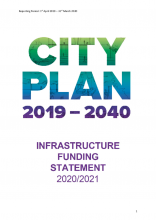 Infrastructure funding statement 2020-21