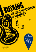 Appendix B - Busking and Street Entertainment Policy 2021