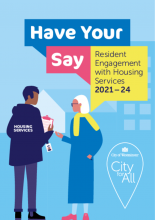 Have your say: Resident Engagement with Housing Services 2021-24