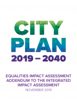 Westminster's City Plan 2019-2040 - Integrated impact assessment, addendum equalities impact assessment